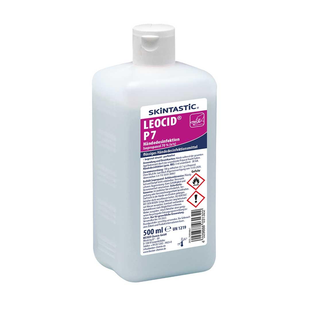 Leocid P7 Händedesinfektion