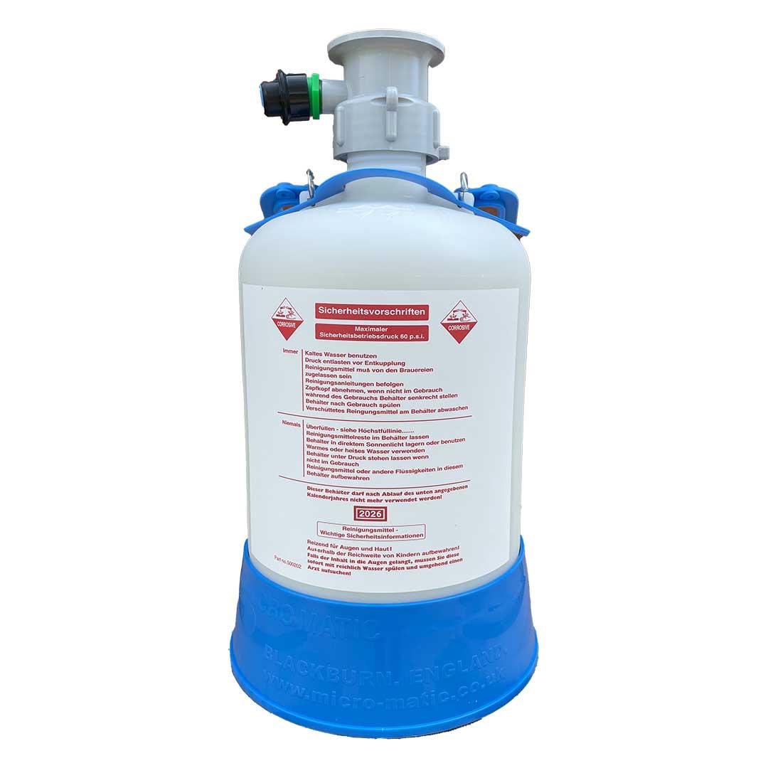 Micro Matic Reinigungsbehälter - 5 Liter