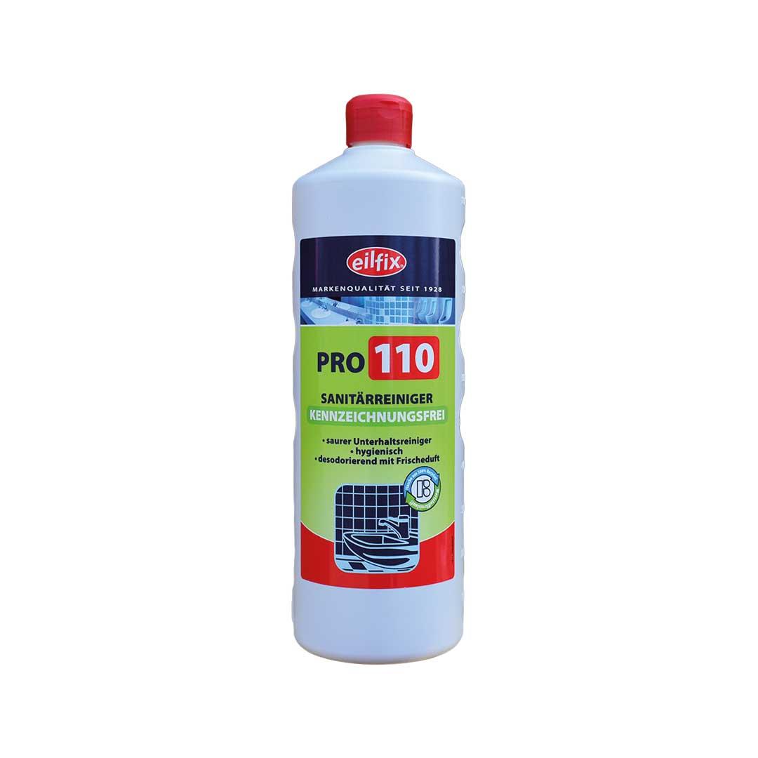Sanitärreiniger Pro 110  Green von Eilfix 1 L -  Kennzeichnungsfrei