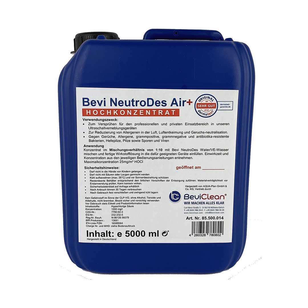 Bevi NeutroDes Air Plus Hochkonzentrat, 5 l