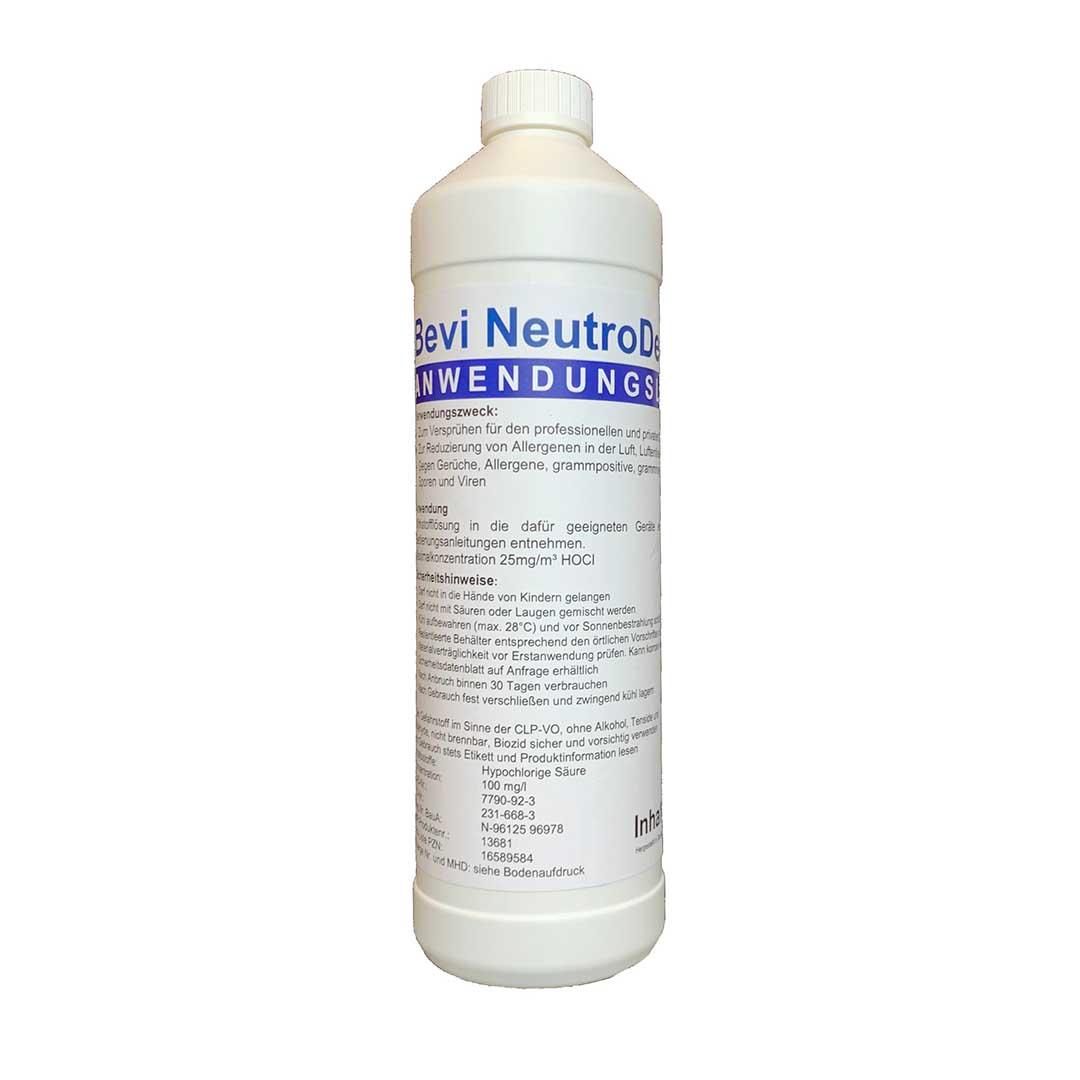 Bevi NeutroDes Air - Anwendungslösung