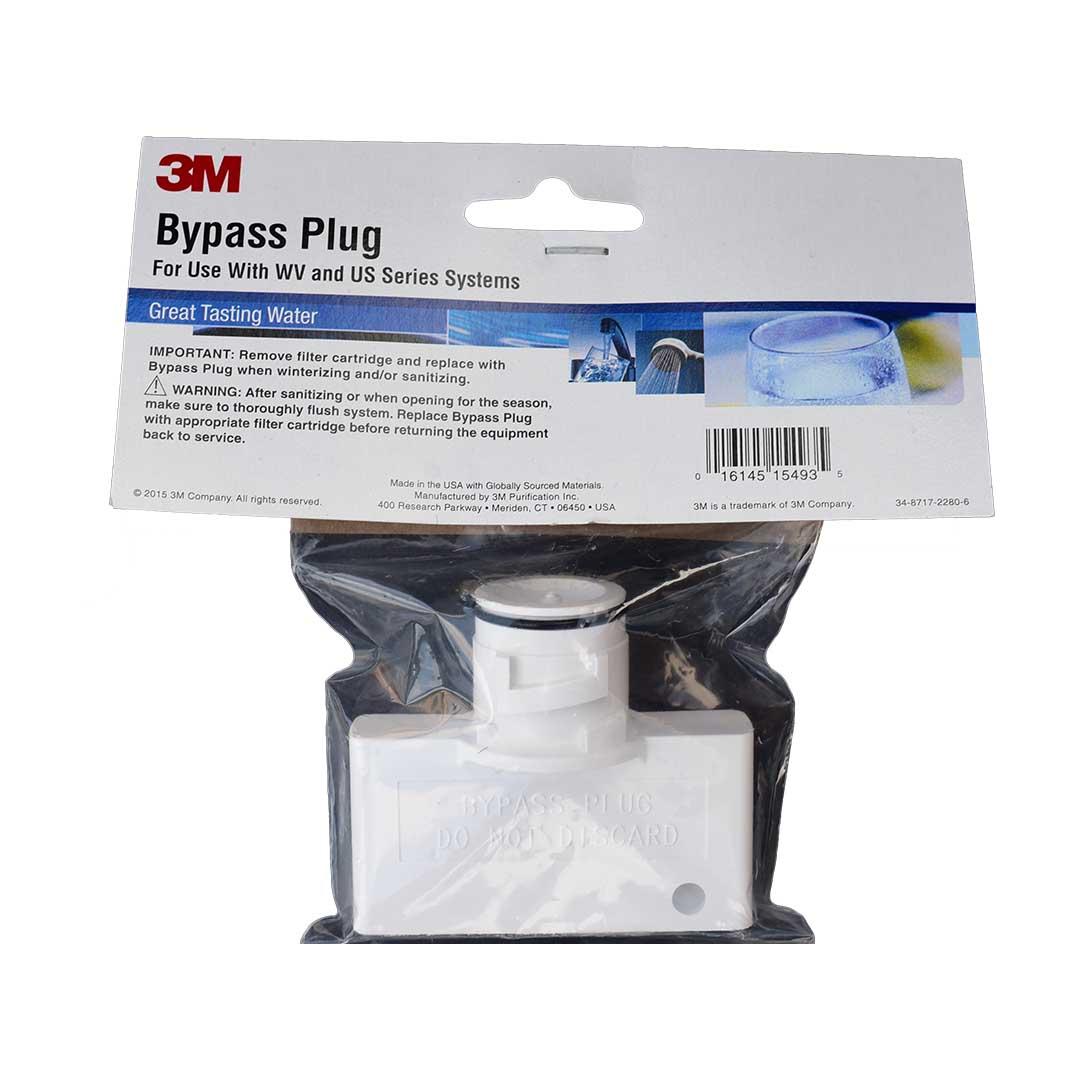 Bypass Plug für 3M VH3 Filterkopf