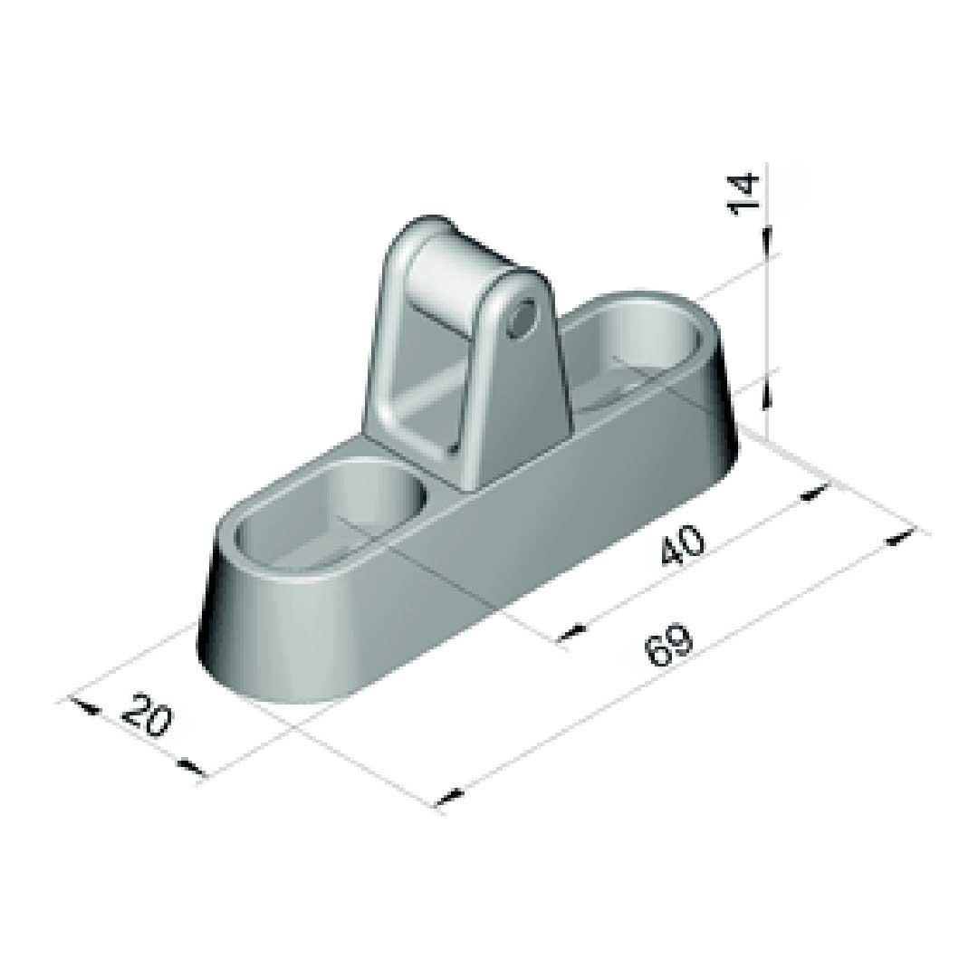 Kloben 6200-020921 für Verschluss Duplo