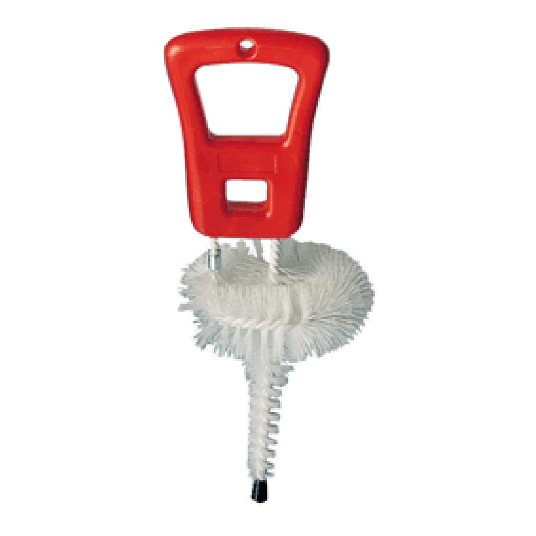 KEG-Bürste für Flach- und Kombizapfköpfe