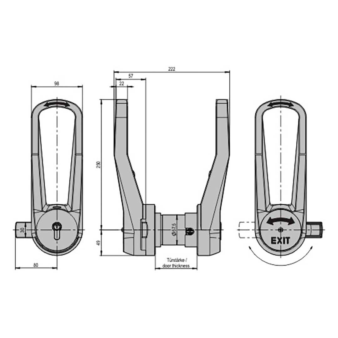 Kühlzellenverschluss STUV 3.31.0650