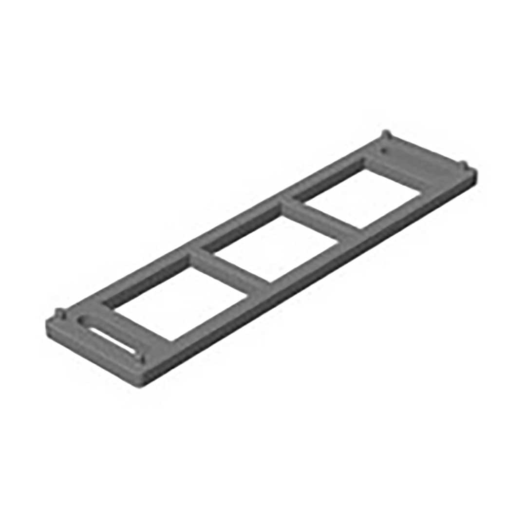 U-Platte für Scharnier 4000/4001 - 5mm