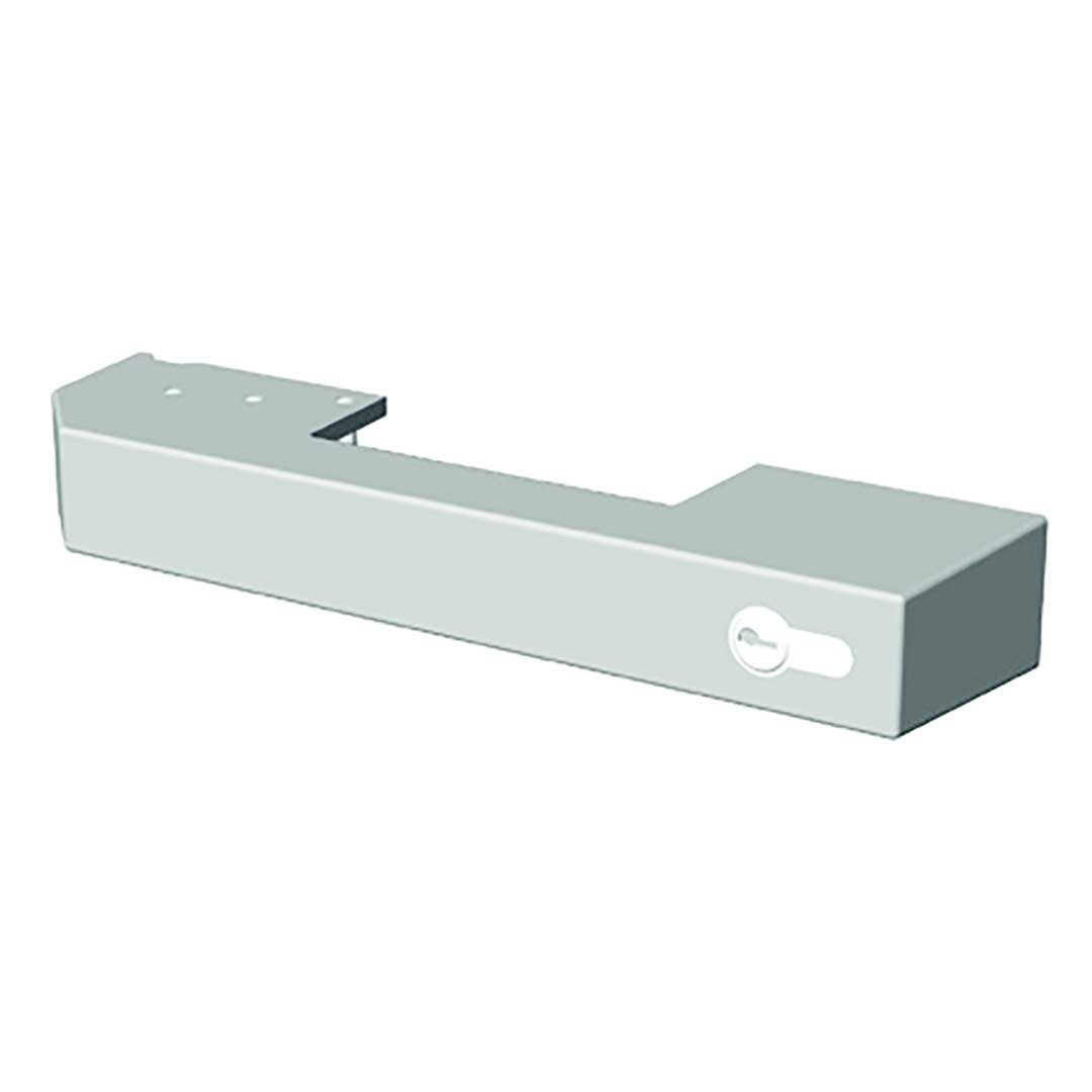 Kühlzellen-Verschluss Jumbo 6000 grau mit Profilzylinder