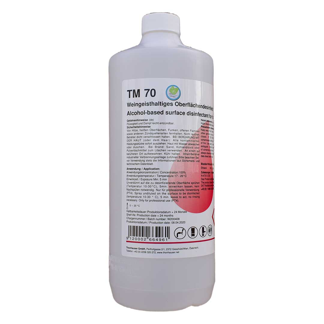 TM 70 Sprühdesinfektion